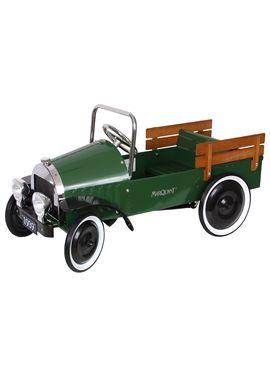 Camioneta pick up verde con pedales - 11104015