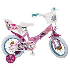 """Bicicleta minnie 14"""" niña - 34300613"""