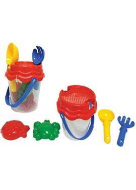 Cubo con accesorios para la arena - 89814590