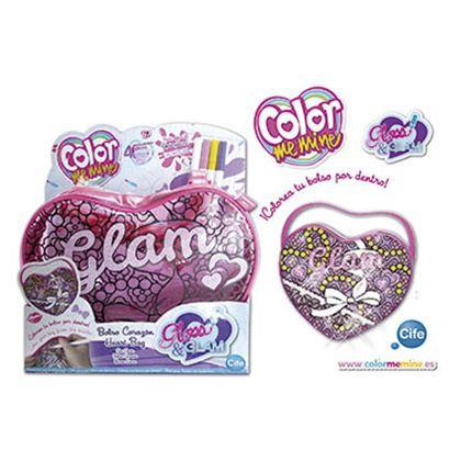 Color me mine glass glam corazon - 30586849