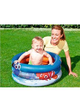Nemo. piscina hinchable 3 anillos ø70x30 cm +18 me - 86791109