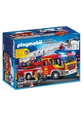 Camion bomberos con escalera, luces y sonido - 30005362