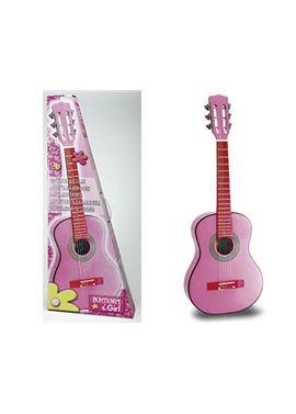 Guitarra rosa 75 cm. - 07907571