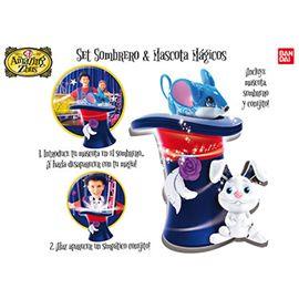 Amazing zhu´s set sombrero y mascota magica - 02526277
