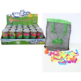 Estuche con 50 globos de agua de pvc (precio unid) - 97216520