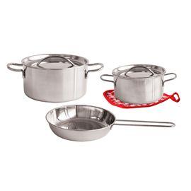 Conjunto metalico de cocina 6 pzs