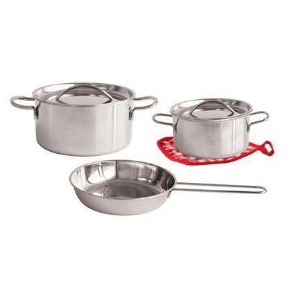 Conjunto metalico de cocina 6 pzs - 86421015