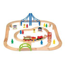 Tren de madera 60 pzs - 95613382