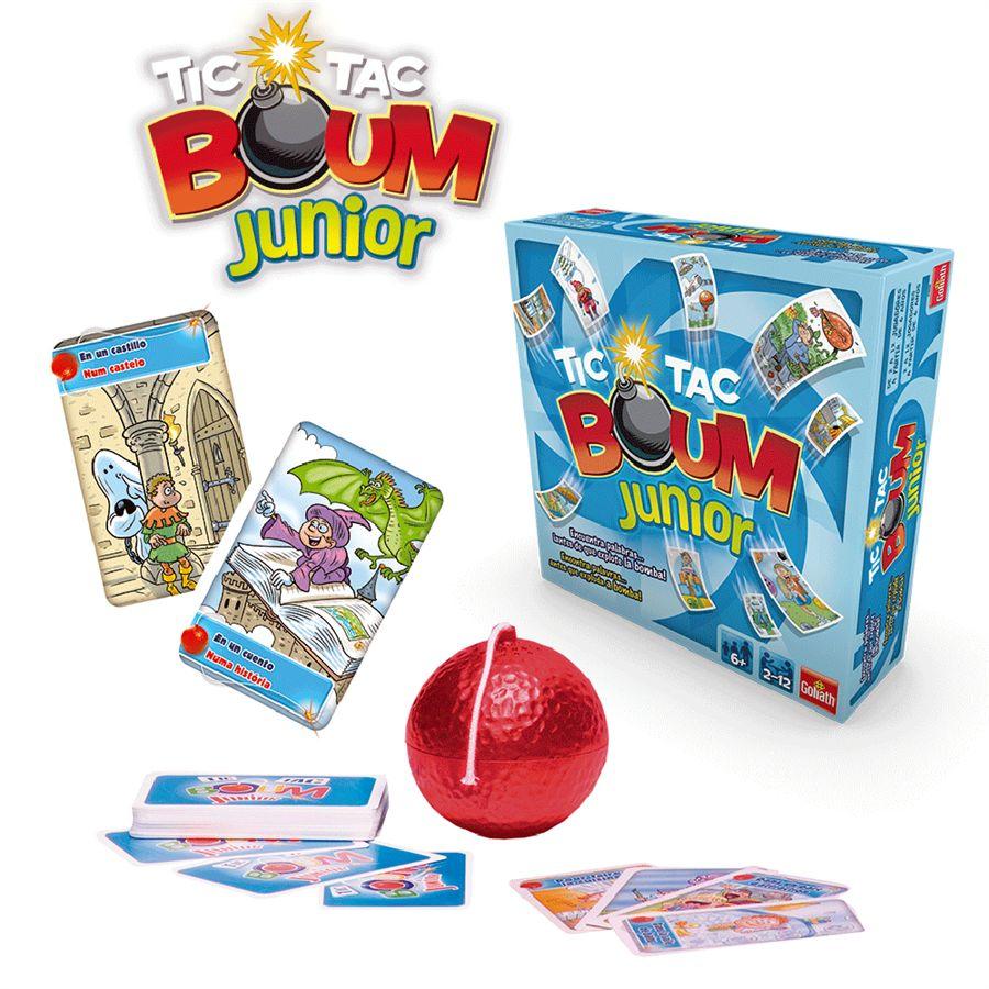 Tic tac boum junior for Boom junior juego de mesa