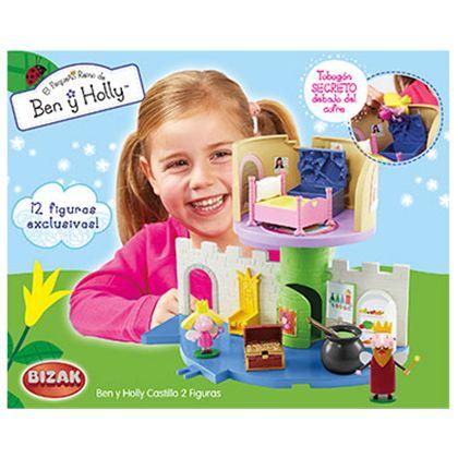 Ben & holly castillo + 2 figuras - 03505284