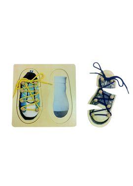Zapatos aprendizaje de madera - 87004351(1)