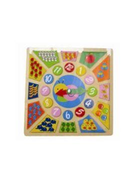 Reloj madera aprendizaje - 87004248