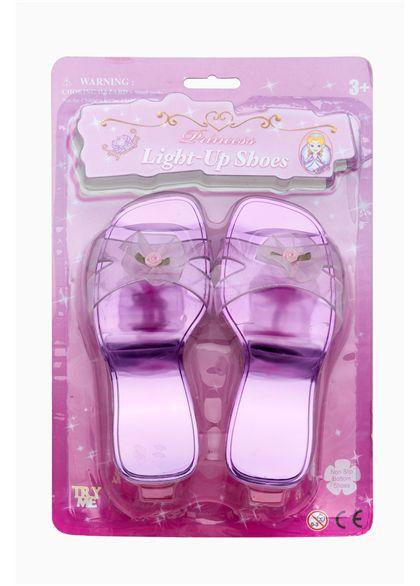Zapatos fantasía luminosos blister - 90555032(1)