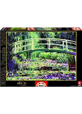 Puzzle 1500 nenufares blancos - 04015535
