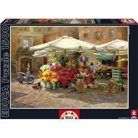 Puzzle 1500 mercado de flores - 04016010(1)