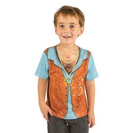 Disfraz camiseta hippy talla 4 nc506 - 57115062