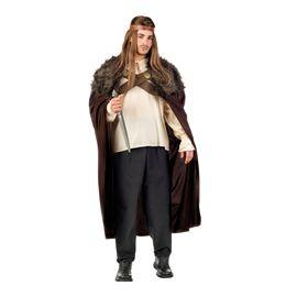 Capa guerrero medieval marron talla l nc803 - 57118030