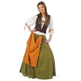 Disfraz tabernera medieval agnes talla xl ma061 - 57130610