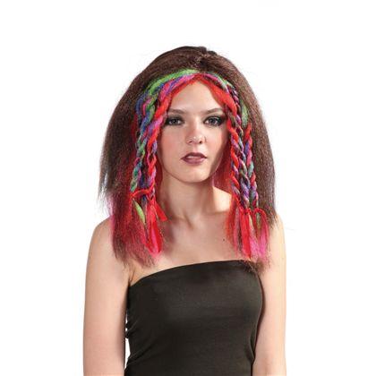 Peluca hippie con trenzas - 92769315