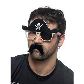Gafas pirata con parche cm955 - 57159550
