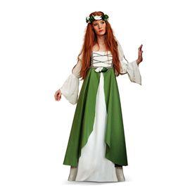 Disfraz clarisa medieval verde (bs) talla xl ma580 - 57135800