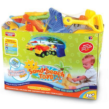 Camión con accesorios para la arena - 87850672(2)