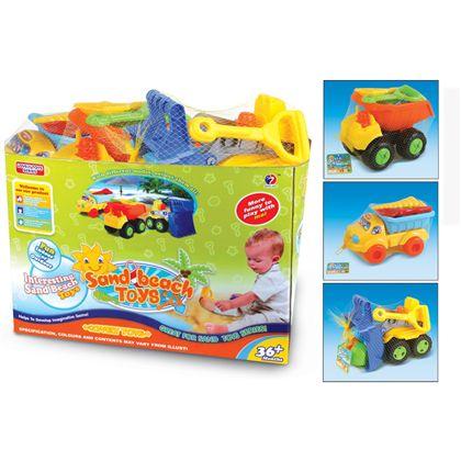 Camión con accesorios para la arena - 87850672(3)