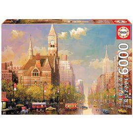 Puzzle 6000 new york afternoon, alexander chen - 04016783