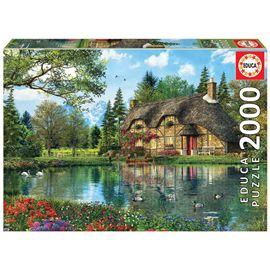 Puzzle 2000 la casa del lago - 04016774