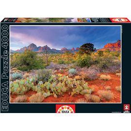 Puzzle 4000 atardecer en red rock, arizona - 04016324