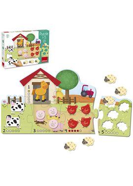 Goula puzzle 1-5 - 09553438