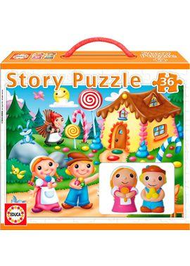 Puzzle 36 story-hansel y gretel - 04014798