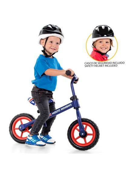 Molto mini bike azul + casco - 26516225