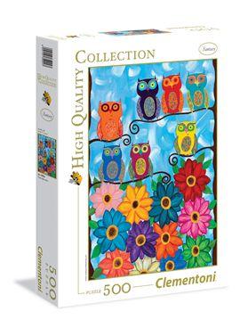Puzzle 500 cute little owls - 06635024