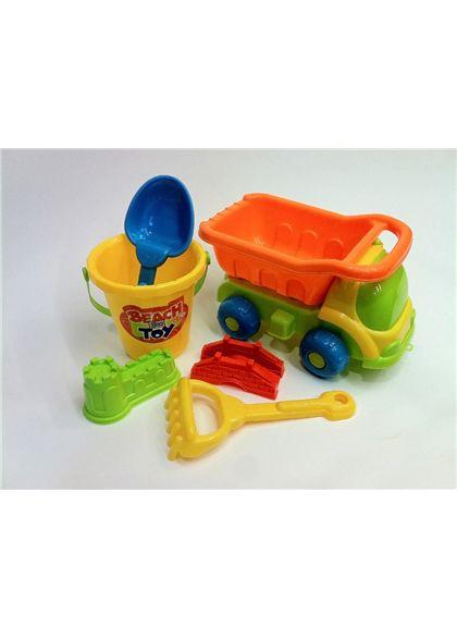 Camión con cubo y accesorios para la arena - 94209092(4)