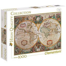Puzzle 1000 mapa antiguo - 06631229