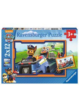 Puzzle 2x12 piezas paw patrol - 26907591