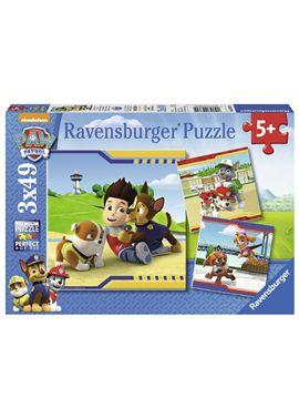 Puzzle 3x49 pzs paw patrol - 26909369