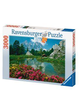 Puzzle 3000 pzs passo di sella, dolomitas - 26917024
