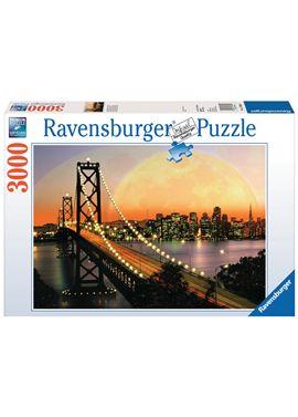 Puzzle 3000pzs san francisco de noche con skyline - 26917039