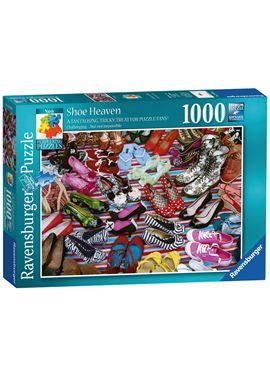 Puzzle 1000 pzs el paraíso de los zapatos - 26919560