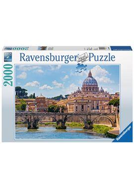 Puzzle 2000 pzs castillo de san angel, roma - 26916686