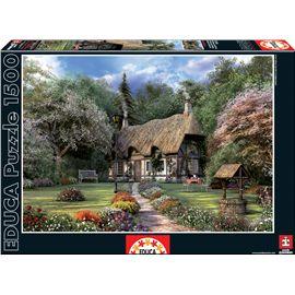 Puzzle 1500 la casa de las rosas, d. davison - 04015165