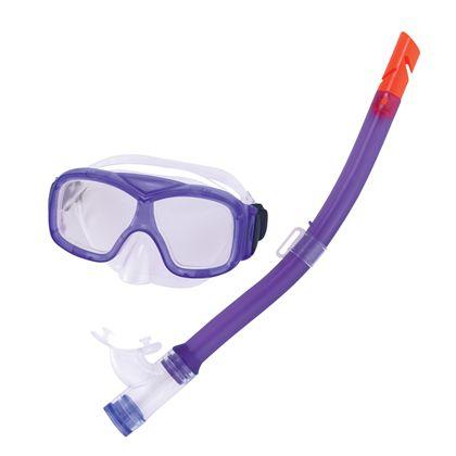 Set máscara de buceo y snorkel explorer 7-14 anys - 86724011(2)