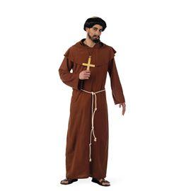 Disfraz monje franciscano medieval talla l ma226 - 57132260
