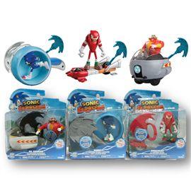 Sonic figura + accesorio acción (precio unidad) - 03592503