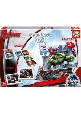 Educa superpack avengers - 04016692