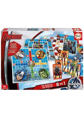Educa set especial 8 en 1 avengers - 04016693