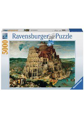 Puzzle 5000 pzs brueghel: la torre de babel - 26917423