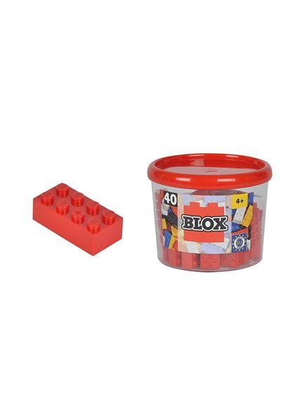 Blox bote con 40 bloques rojos - 33318875